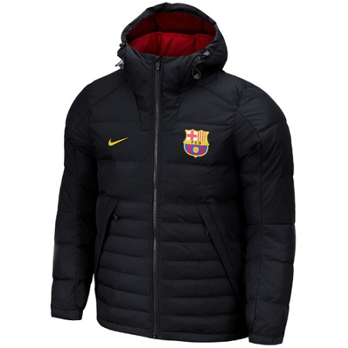 18-19 Barcelona NSW Down FILL Hoodded Jacket