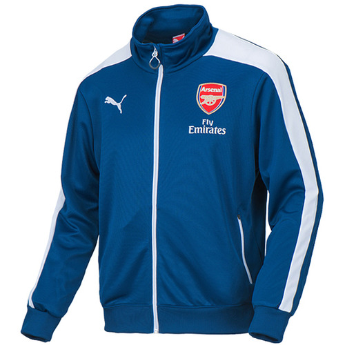 14-15 Arsenal(AFC) T7 Anthem Jacket - Navy