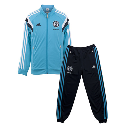 [해외][Order] 14-15 Chelsea(CFC) Boys Training Presentation Suit (Intense Blue F11) - KIDS