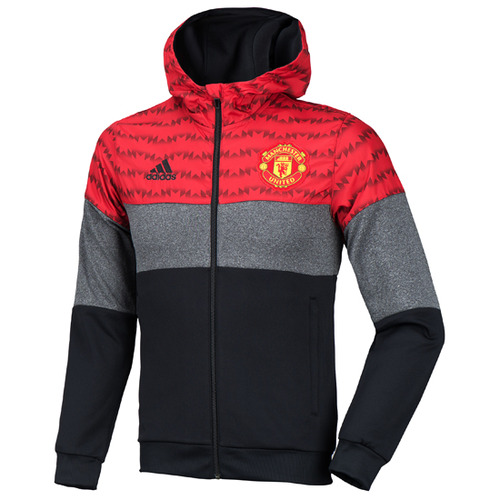 15-16 Manchester United Fleece Full-Zip Hoody