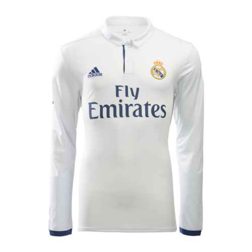 [해외][Order] 16-17 Real Madrid Home(RCM) L/S