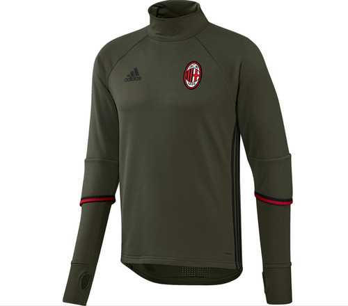 [해외][Order] 16-17 AC Milan Training Top - Night Cargo/Black/Victory Red