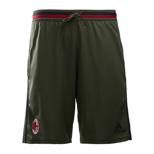 [해외][Order] 16-17 AC Milan Training Shorts - Night Cargo/Black/Victory Red