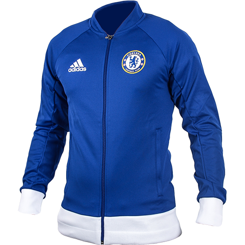 [해외][Order] 16-17 Chelsea(CFC) Anthem Jacket - Chelsea Blue/White