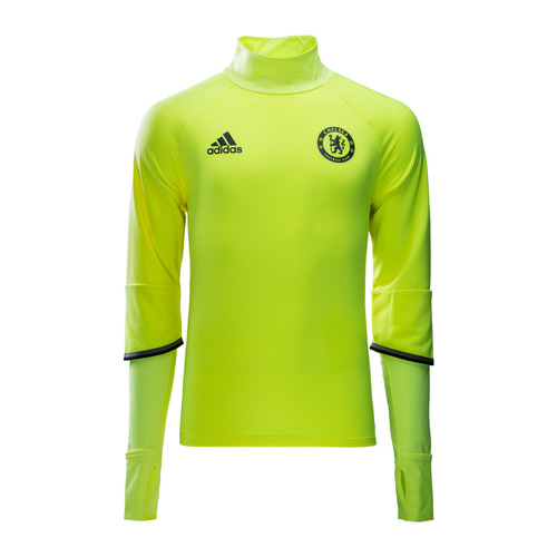 [해외][Order] 16-17 Chelsea(CFC) Boys Training Top (Solar Yellow/Black/Granite) - KIDS
