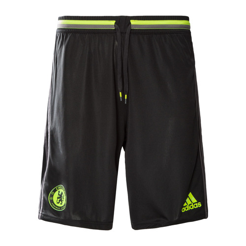 [해외][Order] 16-17 Chelsea(CFC) Boys Training Shorts (Black/Granite/Solar Yellow) - KIDS