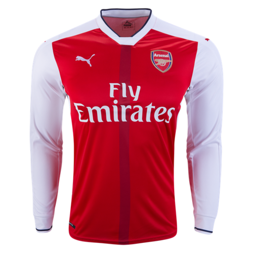 [해외][Order] 16-17 Arsenal  Boys Home L/S - KIDS