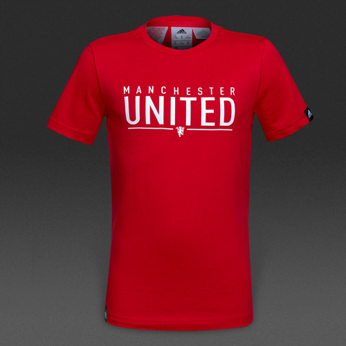 [해외][Order] 16-17 Manchester United Boys Tee (Real Red) - KIDS