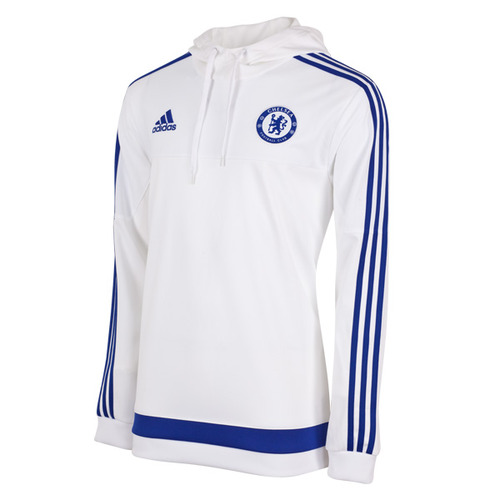 [해외][Order] 15-16 Chelsea(CFC) Hooded Sweat Top - White