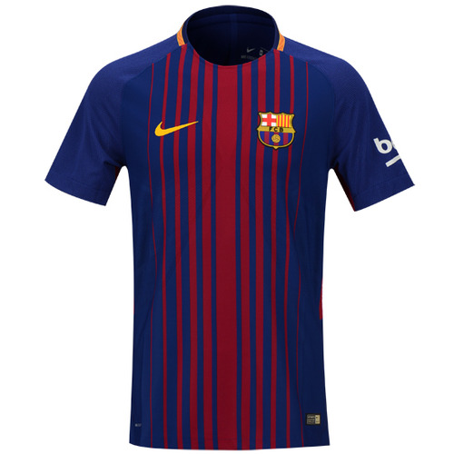 17-18 Barcelona Home Vapor Match Jersey - Authentic
