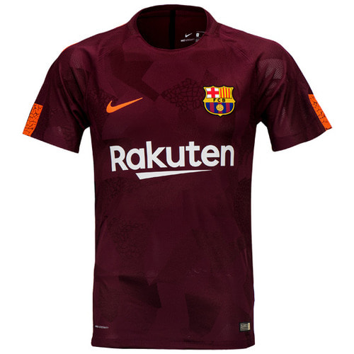 17-18 Barcelona 3rd Vapor Match Jersey - Authentic