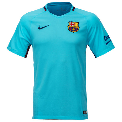 17-18 Barcelona Boys Away Stadium Jersey - KIDS