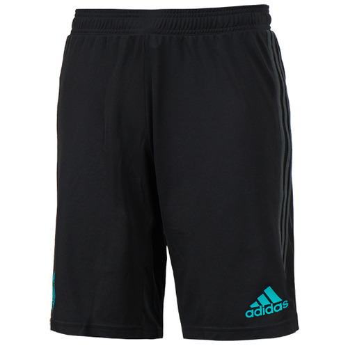 17-18 Real Madrid (RCM) Training Shorts - Black