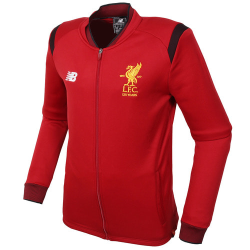 17-18 Liverpool Elite Training Walk Out Jacket- Red
