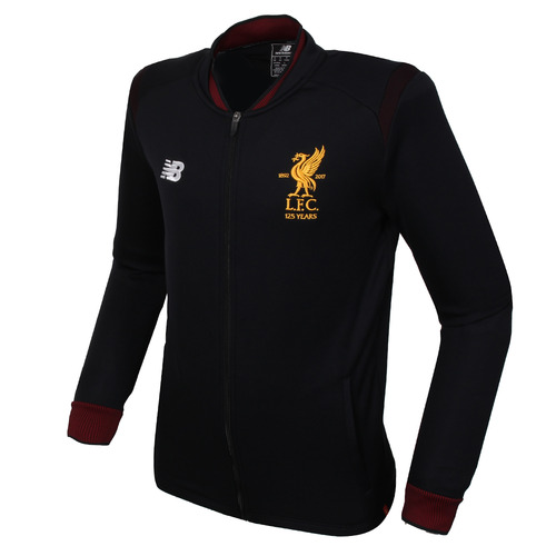17-18 Liverpool Elite Training Walk Out Jacket- Black