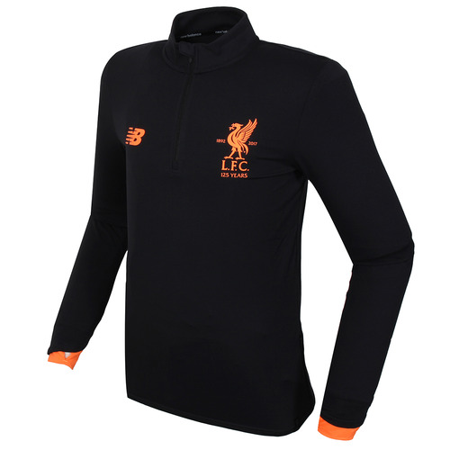 [해외][Order] 17-18 Liverpool Elite Training MID-Layer Top - Black