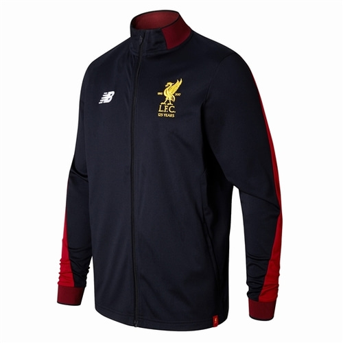 [해외][Order] 17-18 Liverpool Elite Training Presentation Jacket- Black