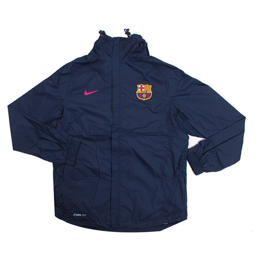 10-11 FC Barcelona Basic Rain Jacket