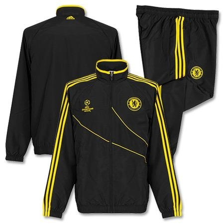 [Order] 12-13 Chelsea(CFC) Boys UCL(UEFA Champions League) Presentation Suit (White) - KIDS