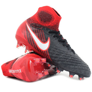 [해외][Order] Magista Obra II FG - Black/White/Hyper Crimson/Bright Crimson - KIDS
