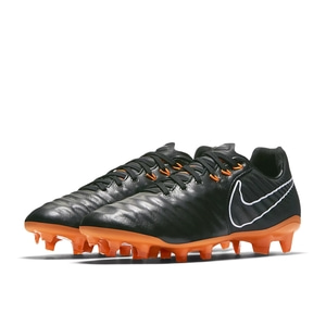 [해외][Order] Tiempo Legend VII Elite FG - Black/Total Orange/Black/White - KIDS