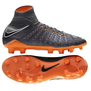 [해외][Order] HyperVenom Phantom III Elite DF FG - Dark Grey/Total Orange/White - KIDS