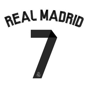 14-15 Real Madrid Home Printing