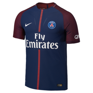 17-18 Paris Saint Germain(PSG) Home Vapor Match Jersey - Authentic