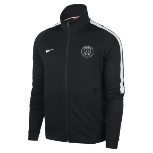 17-18 Paris Saint Germain(PSG) Franchise Authentic Jacket - Black