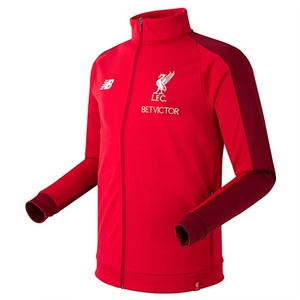 18-19  Liverpool Elite Training Presentation Jacket - Red