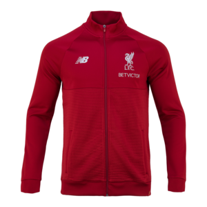 18-19  Liverpool Elite Training WalkOut Jacket - Red