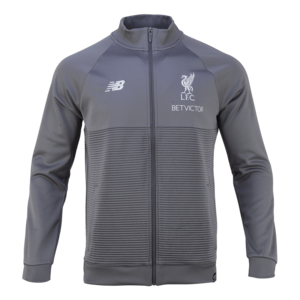 18-19  Liverpool Elite Training WalkOut Jacket - Gray