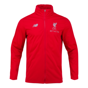 18-19  Liverpool Elite Training PreSeason Rain Jacket - Red