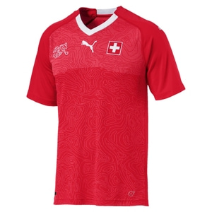 18-19 Switzerland Home Jersey