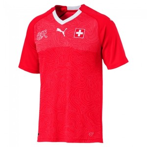 [해외][Order] 18-19 Switzerland Home Jersey