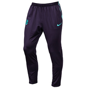 18-19 Barcelona Dry Squard Training Pants - Purple Dynasty/Hyper Turq/Hyper Turq