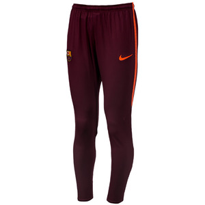 17-18 Barcelona Dry Squard Training Pants KZ - NIGHT MAROON/HYPER CRIMSON