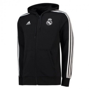 18-19 Real Madrid (RCM) 3S Full-Zip Hoodie Jacket
