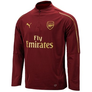 [해외][Order] 18-19 Arsenal 1/4 Zip Training Top - Pomegranate