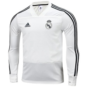 18-19 Real Madrid (RCM) Training Top - White