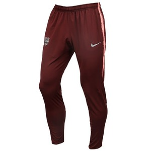 18-19 Barcelona Dry Squard Training Pants - Deep Daroon