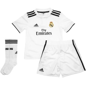 18-19 Real Madrid Home Mini KIT- KIDS