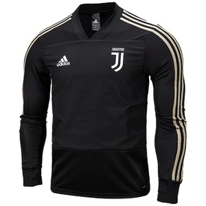 18-19 Juventus Training Top - Black