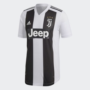 18-19 Juventus Authentic Home Jersey (CLIMACHILL) - Authentic