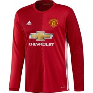 16-17 Manchester United Home  L/S
