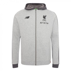 [해외][Order] 18-19  Liverpool Leisure Hoody Jacket - Grey Marl