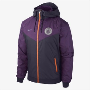 [해외][Order] 18-19 Manchester City Authentic Woven Windrunner -Purple Dynasty/Night Purple