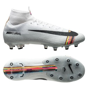 [해외][Order] Mercurial Superfly VI Elite CR7 AG-PRO - White/Black/Pure Platinum (109)