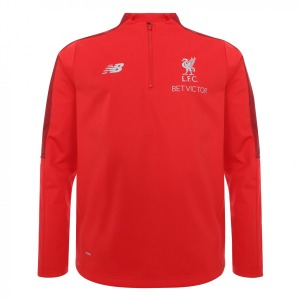 [해외][Order] 18-19  Liverpool Training 1/4 Top - Red
