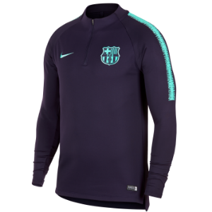 [해외][Order] 18-19 Barcelona Dry Squad Drill Top - Purple Dynasty/Purple Dynasty/Hyper Turq